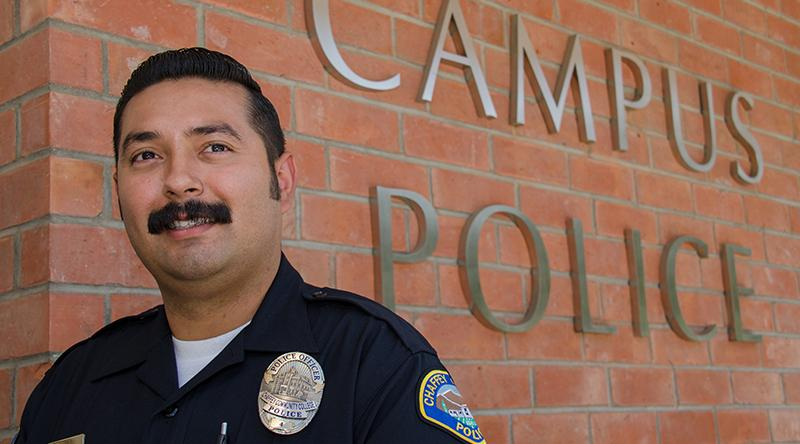 Chaffey Police officer