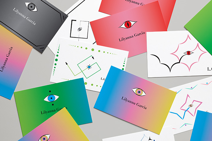 Art 63 Personal Logo and Business Card project by Lilyanna Garcia