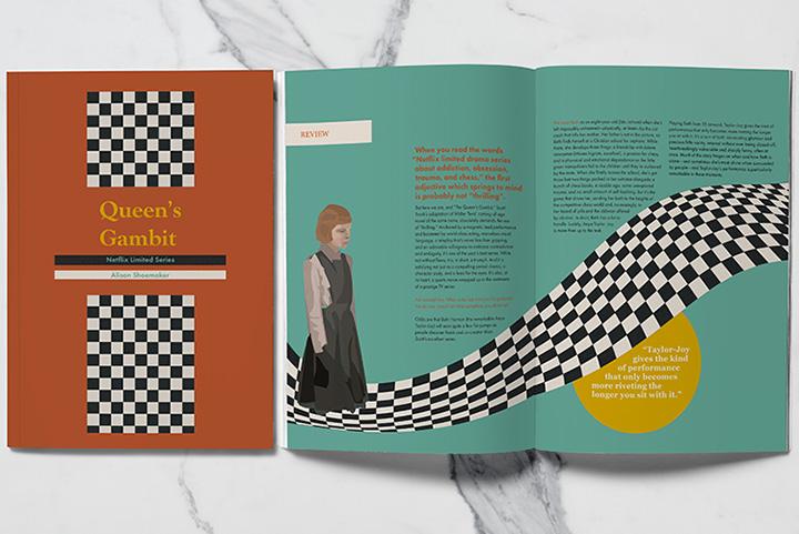 Art 73 Editorial Design project by Areli Bautista Martinez (1 of 2)