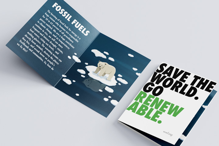 Art 73 Nonprofit Brochure Design project by Zack Gibson