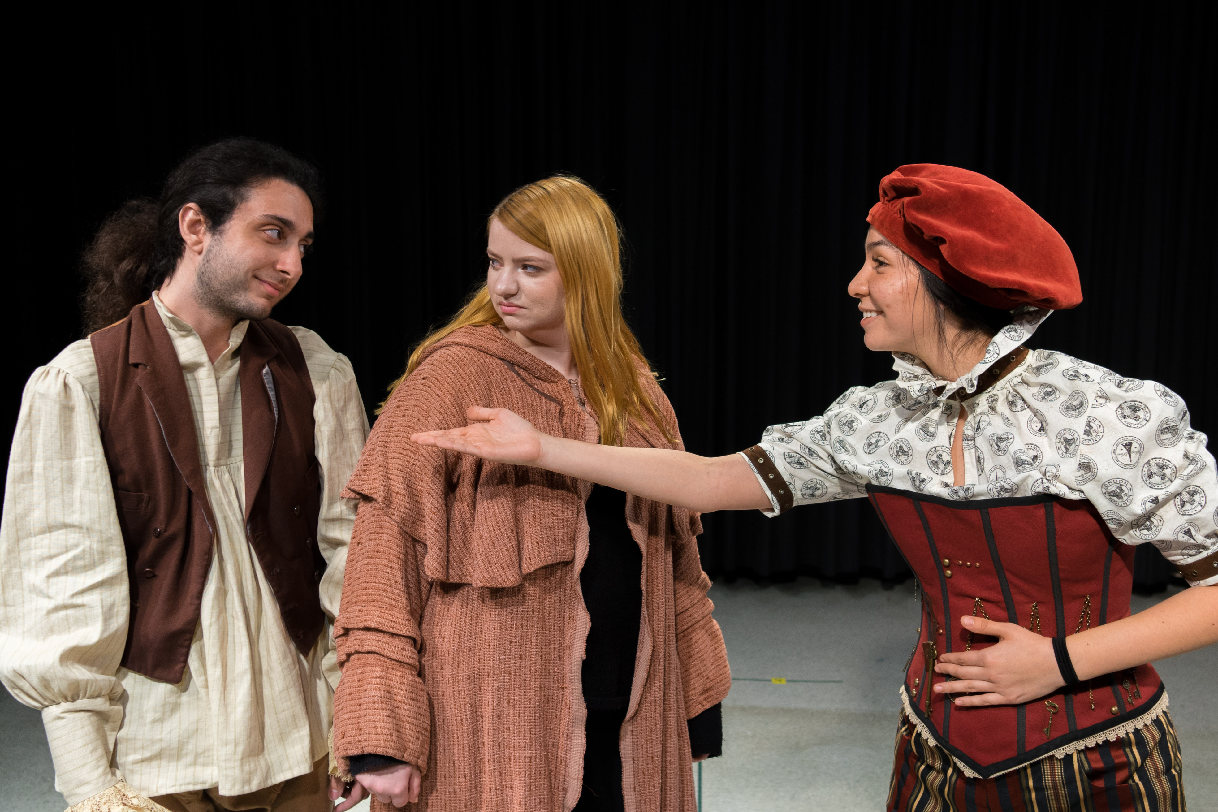 "Students perform in ""As You Like It"" at Chaffey College."