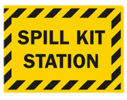 spill kit stattion sign