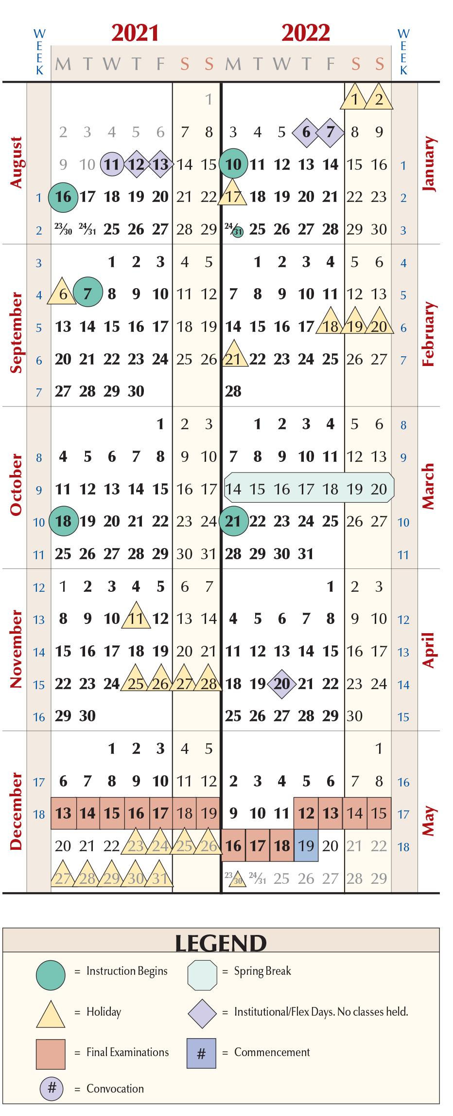 Niu Academic Calendar 2022.Spring 2022 Calendar