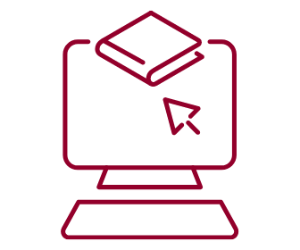 computer and book - icon